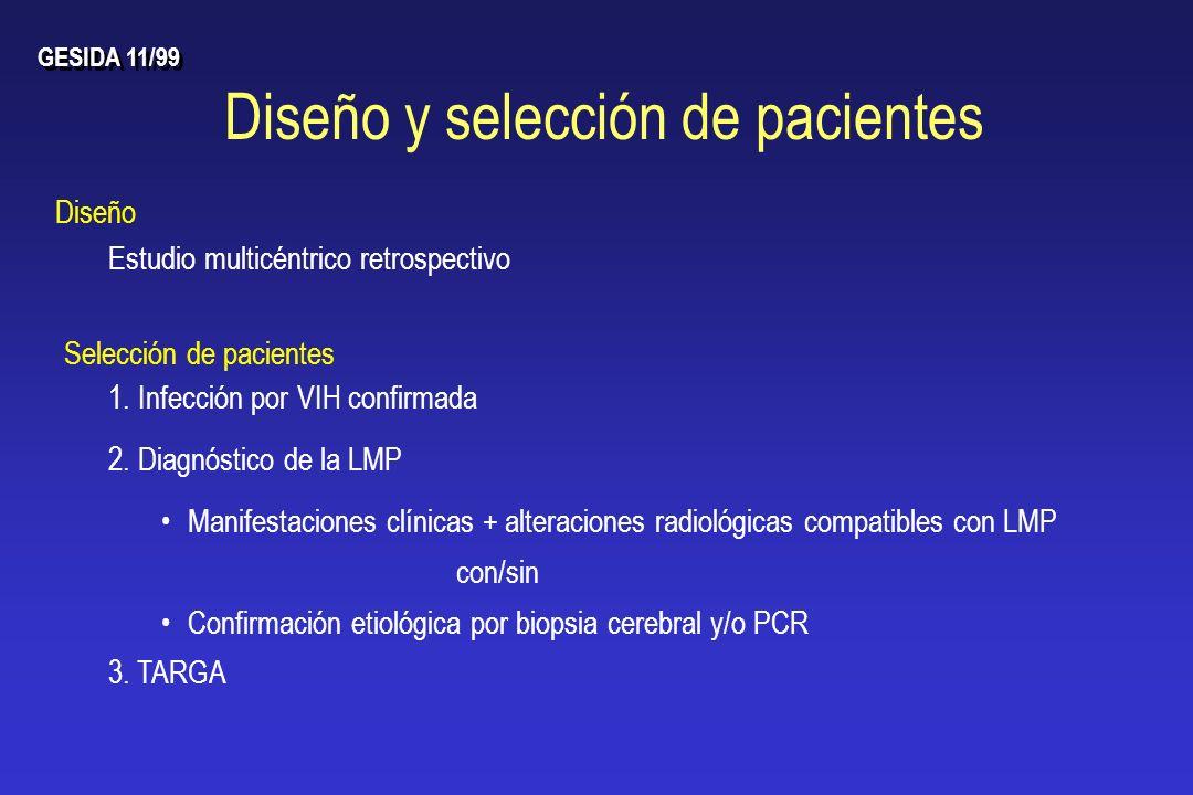 Diseño y selección de pacientes