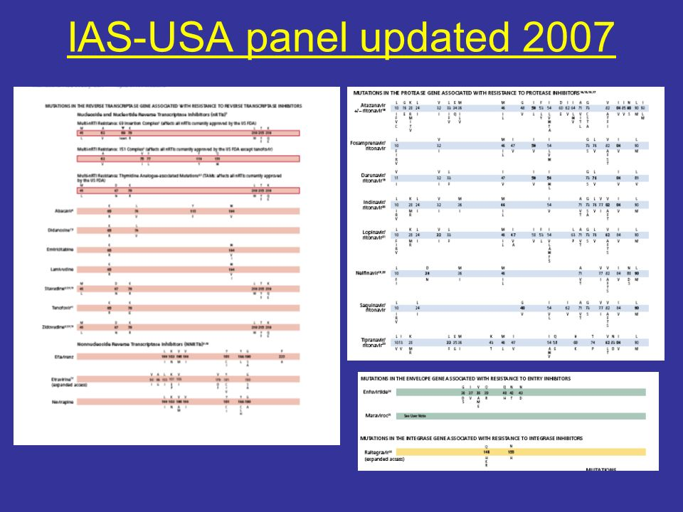 IAS-USA panel updated 2007