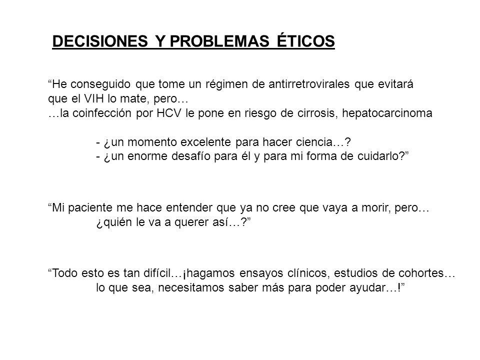 DECISIONES Y PROBLEMAS ÉTICOS
