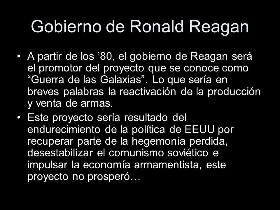 Gobierno de Ronald Reagan
