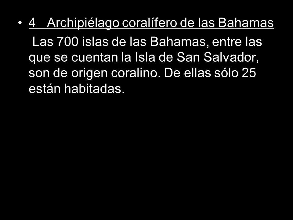 4 Archipiélago coralífero de las Bahamas