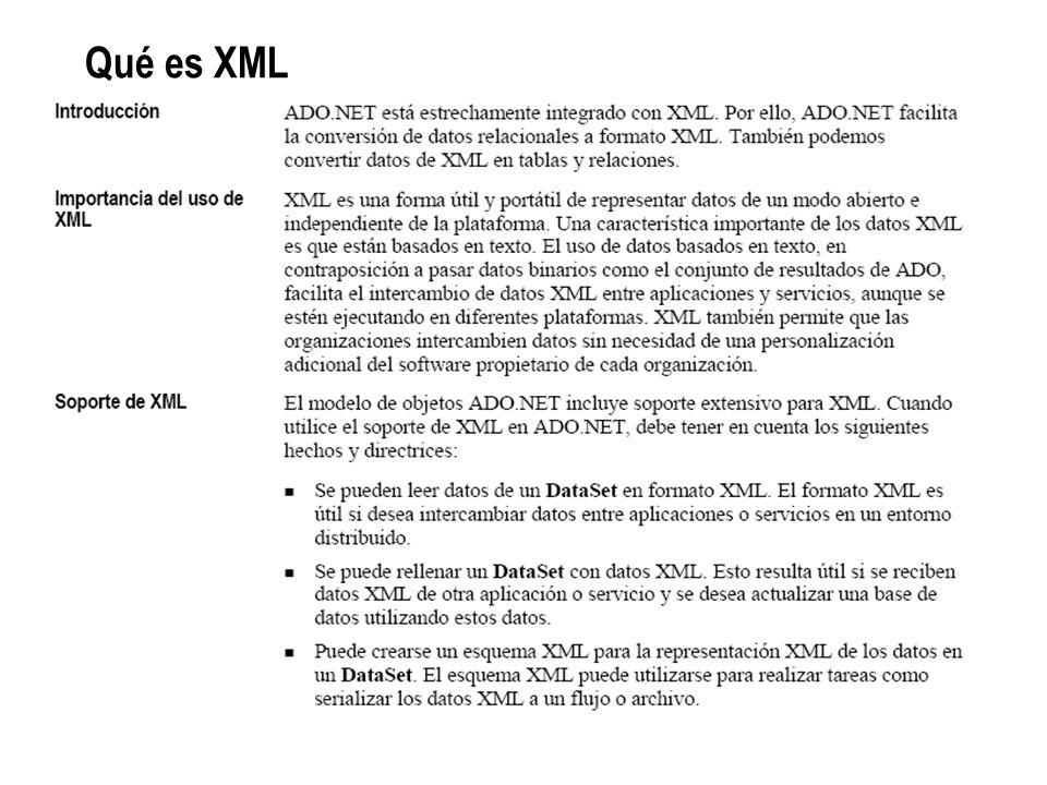 Qué es XML