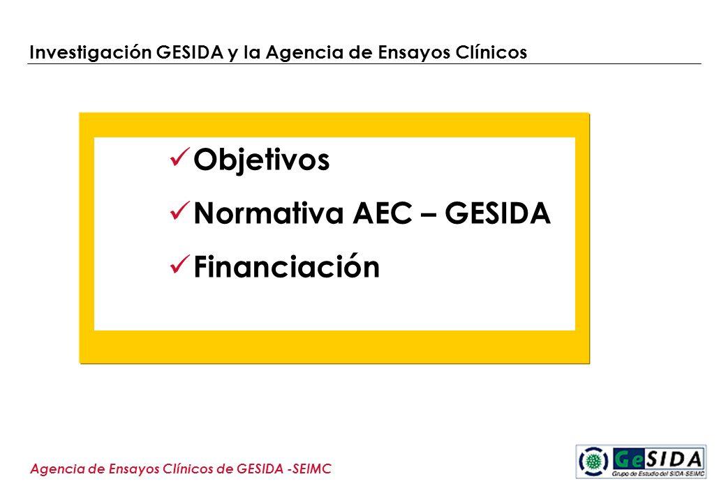 Investigación GESIDA y la Agencia de Ensayos Clínicos
