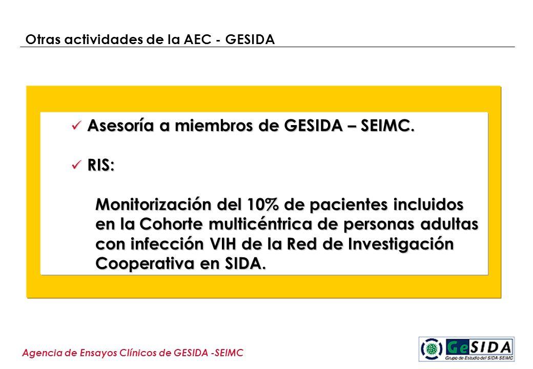 Otras actividades de la AEC - GESIDA
