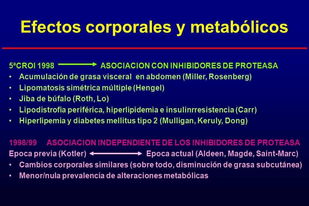 Efectos corporales y metabólicos