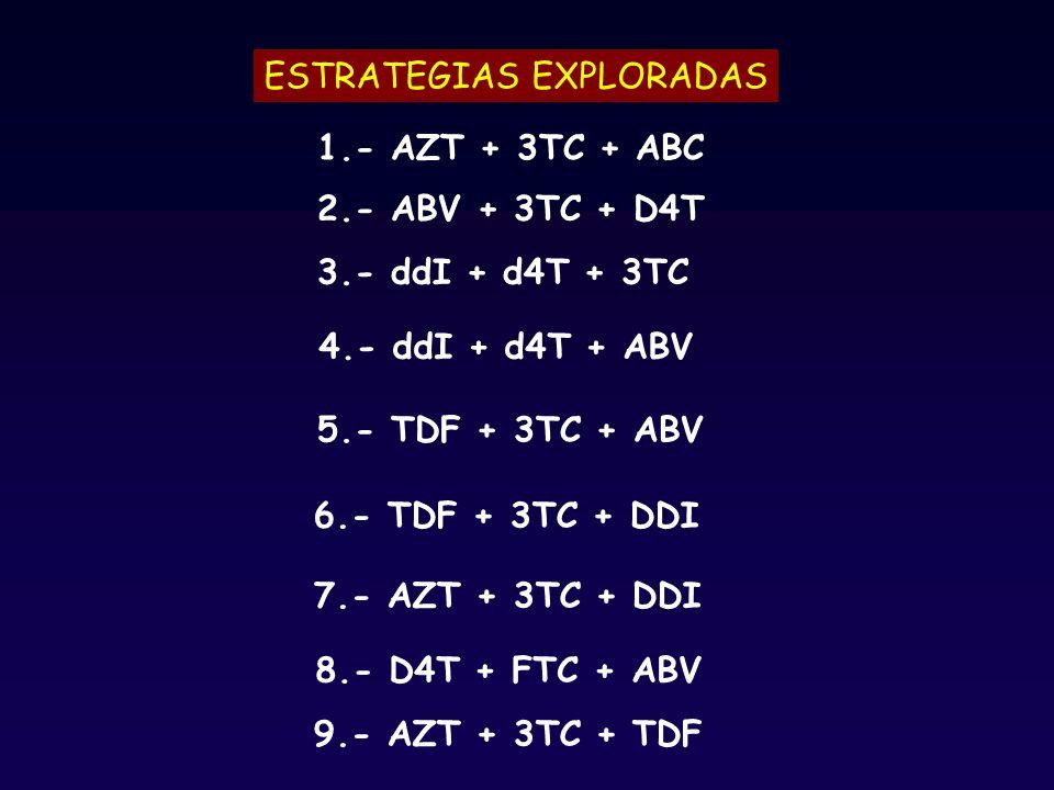 ESTRATEGIAS EXPLORADAS
