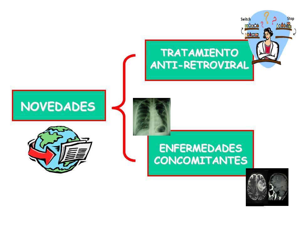 TRATAMIENTO ANTI-RETROVIRAL ENFERMEDADES CONCOMITANTES