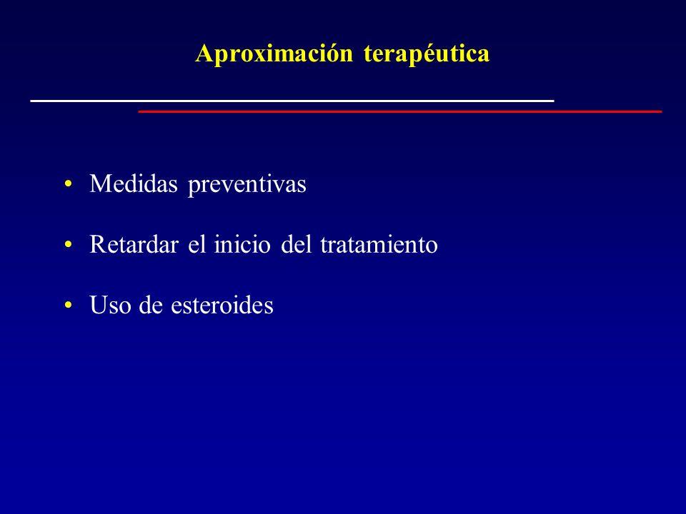 Aproximación terapéutica