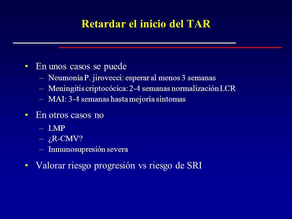 Retardar el inicio del TAR