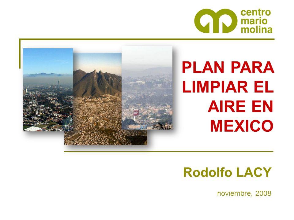 PLAN PARA LIMPIAR EL AIRE EN MEXICO
