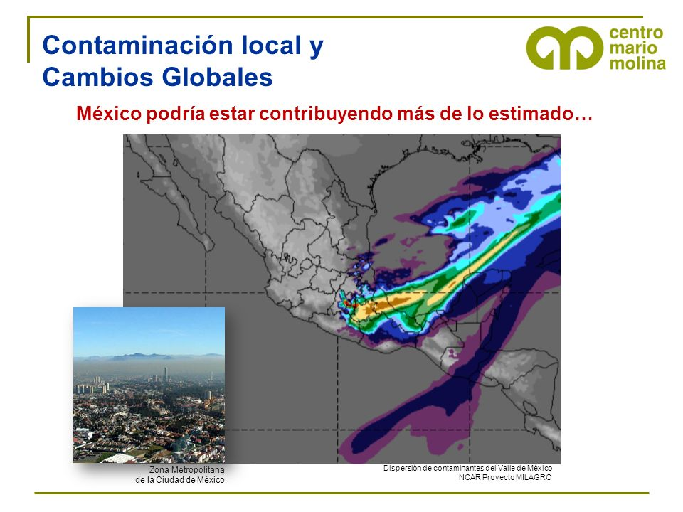 Contaminación local y Cambios Globales