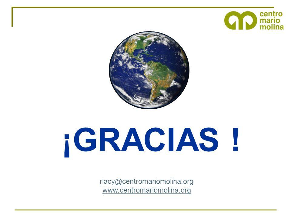 ¡GRACIAS ! rlacy@centromariomolina.org www.centromariomolina.org 37