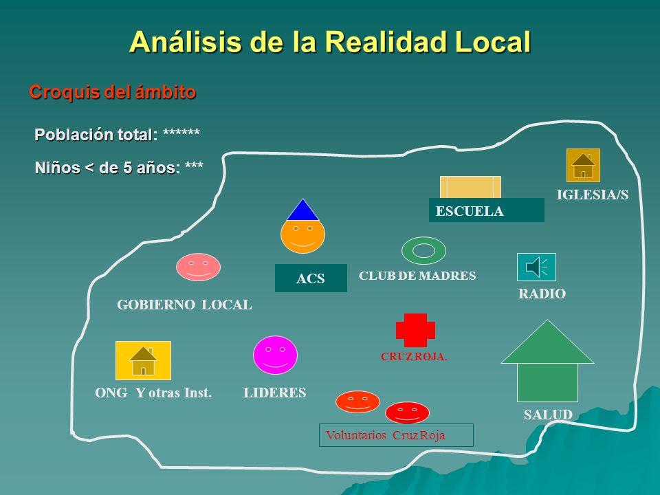 Análisis de la Realidad Local