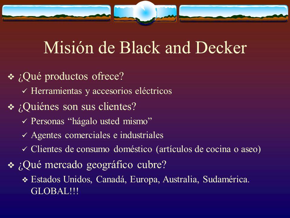 Misión de Black and Decker