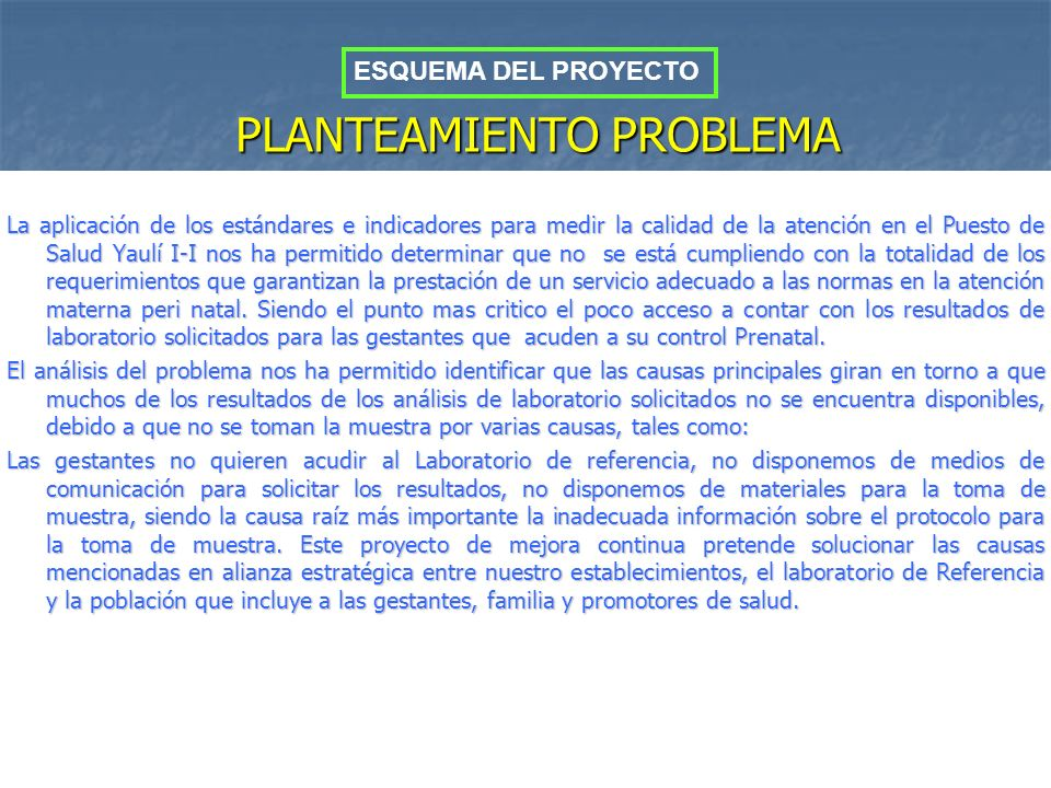 PLANTEAMIENTO PROBLEMA