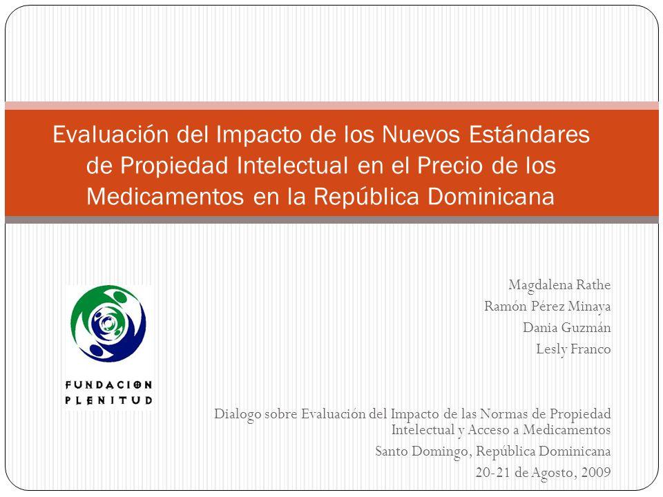 Evaluación del Impacto de los Nuevos Estándares de Propiedad Intelectual en el Precio de los Medicamentos en la República Dominicana