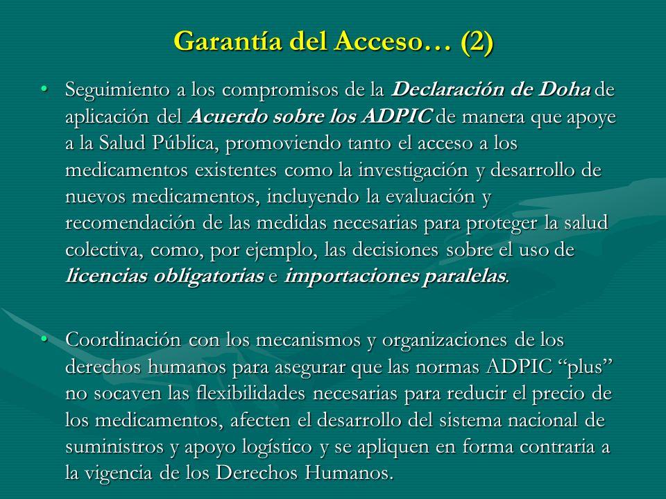 Garantía del Acceso… (2)