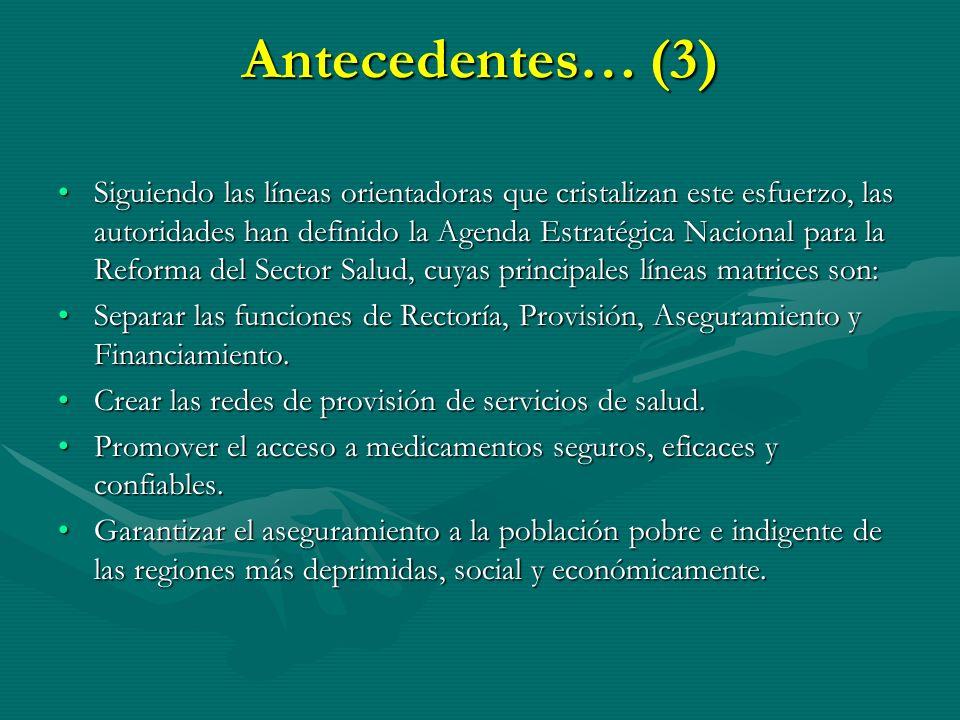 Antecedentes… (3)