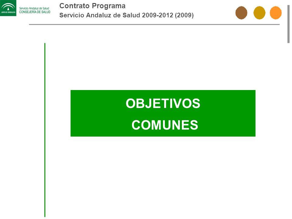 OBJETIVOS COMUNES Contrato Programa