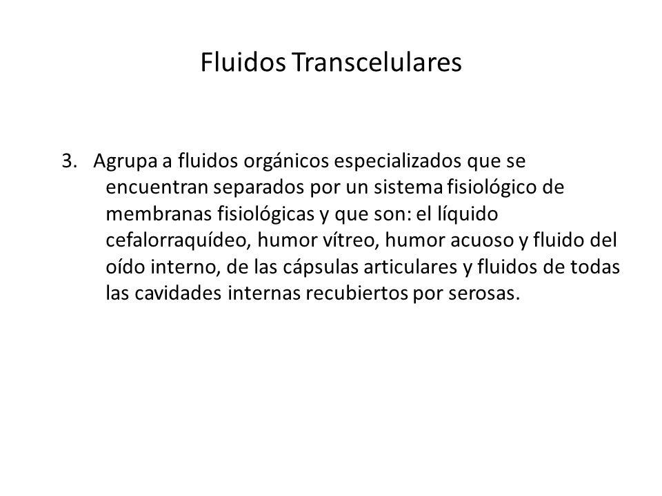 Fluidos Transcelulares