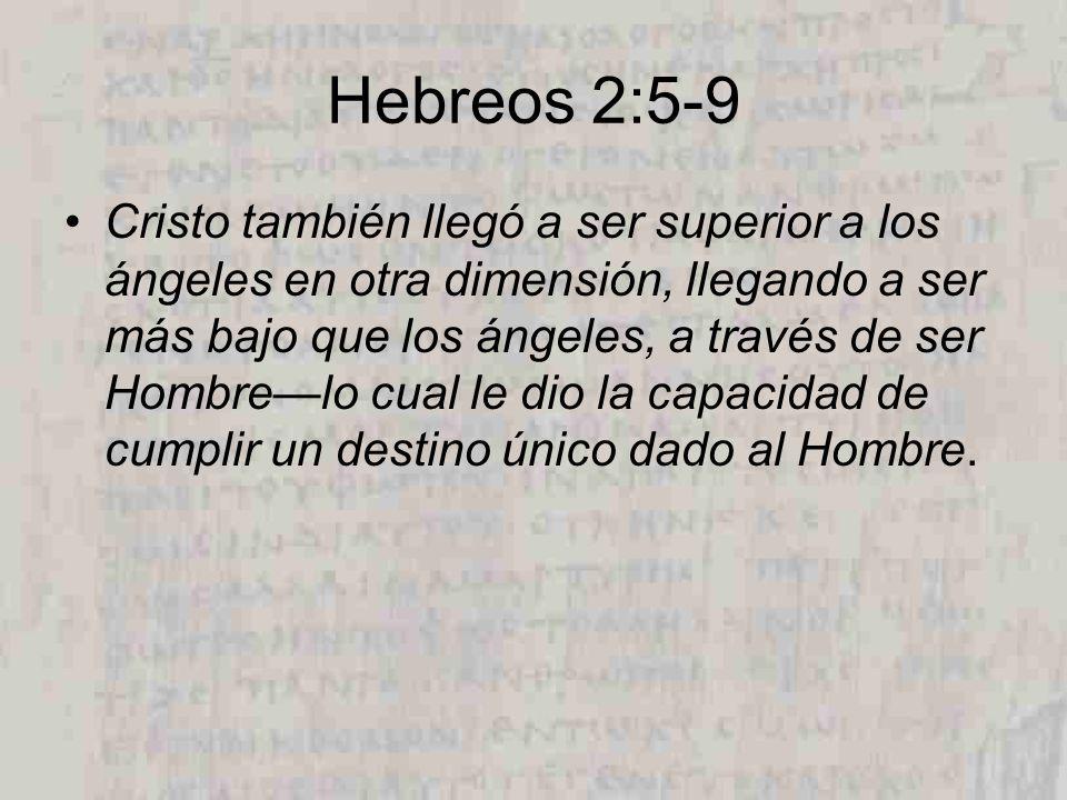 Hebreos 2:5-9