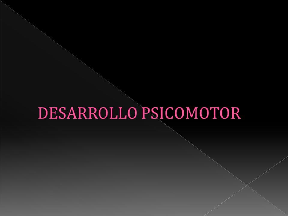 DESARROLLO PSICOMOTOR