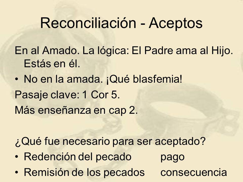 Reconciliación - Aceptos