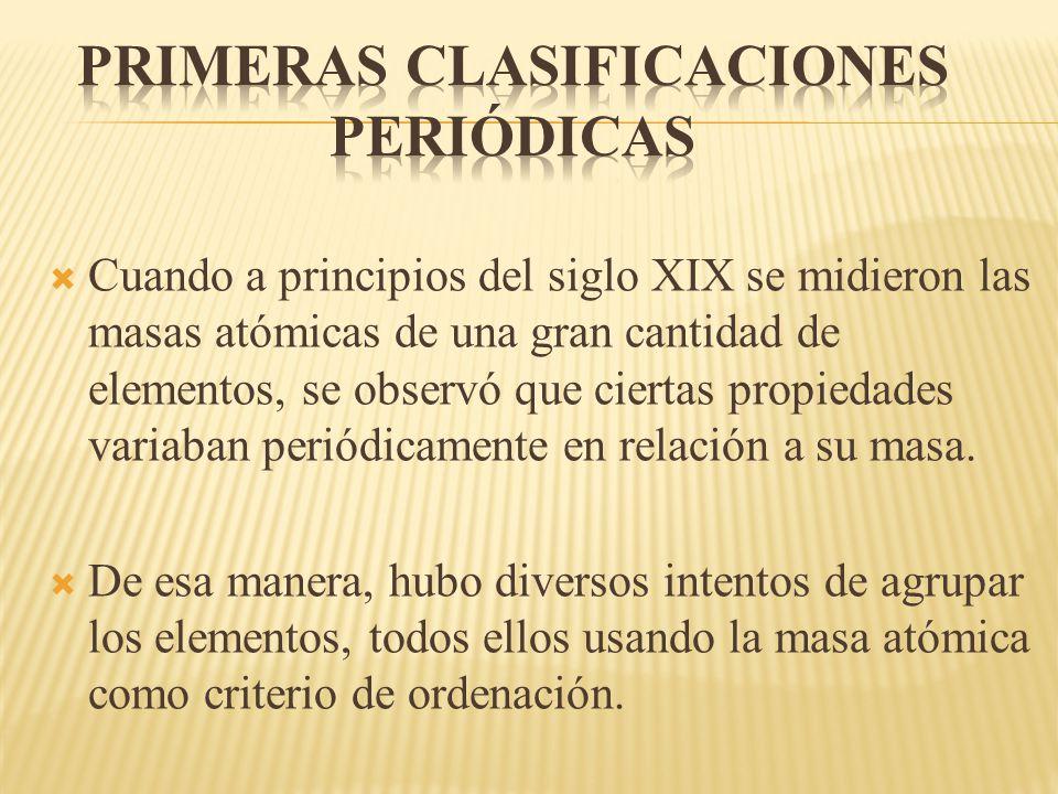 La tabla peridica ppt descargar la tabla peridica 2 primeras clasificaciones peridicas cuando a principios del siglo xix urtaz Gallery