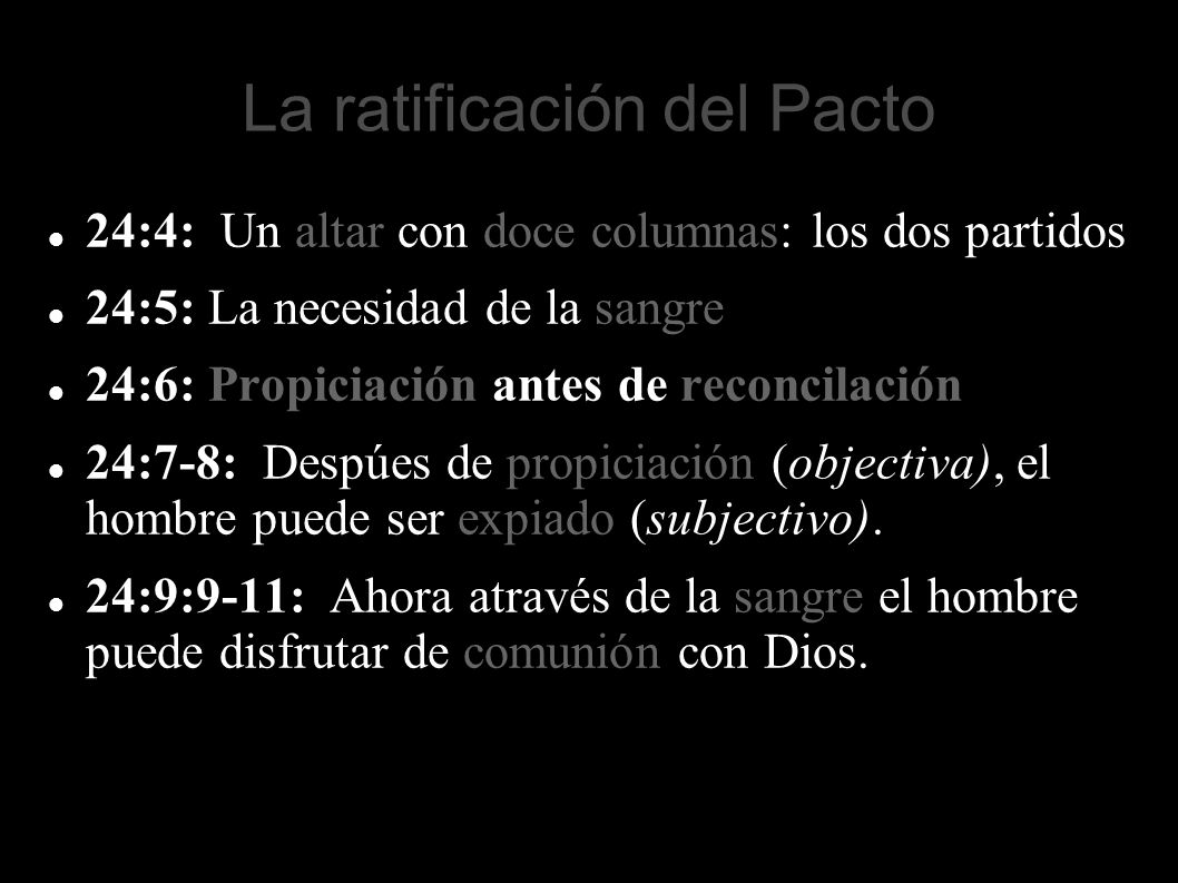 La ratificación del Pacto