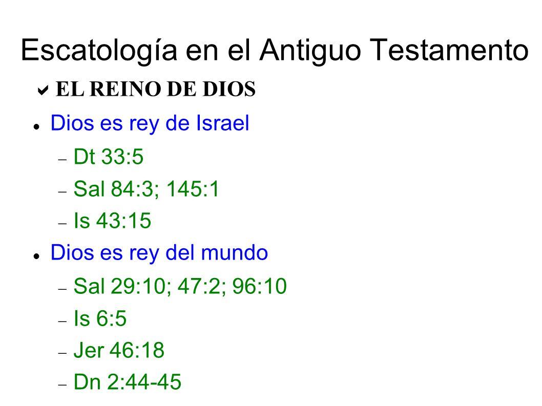 Escatología en el Antiguo Testamento