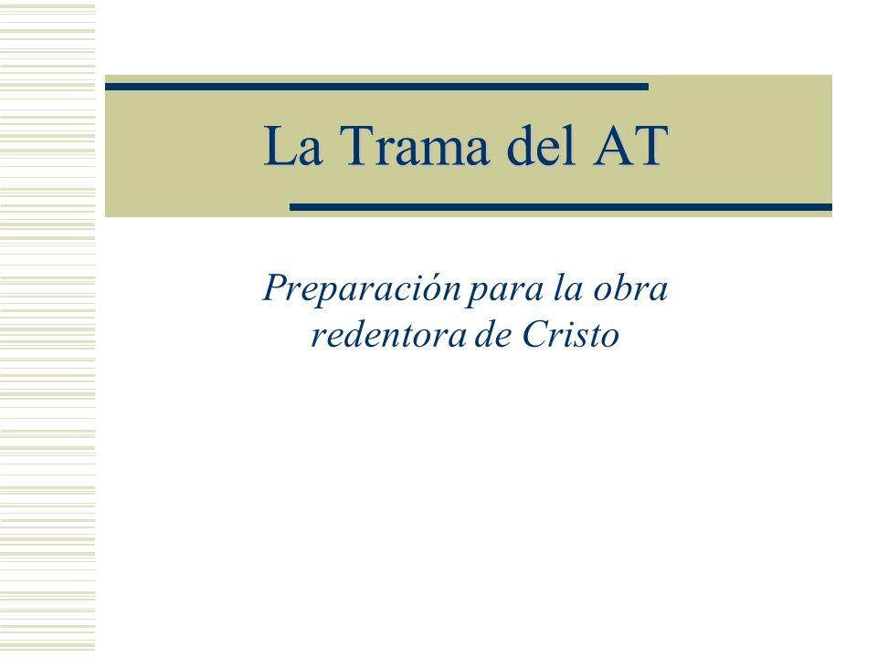 Preparación para la obra redentora de Cristo