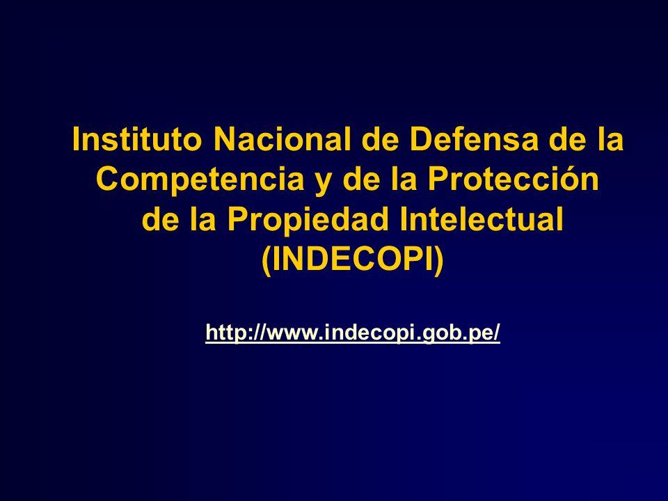 Instituto Nacional de Defensa de la Competencia y de la Protección