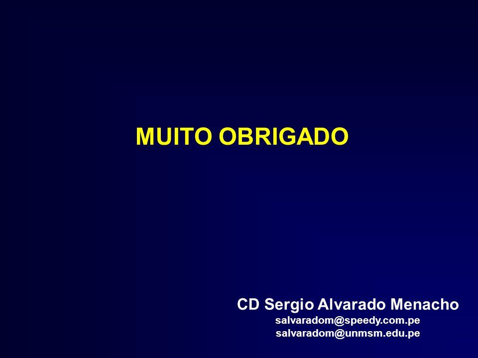 CD Sergio Alvarado Menacho