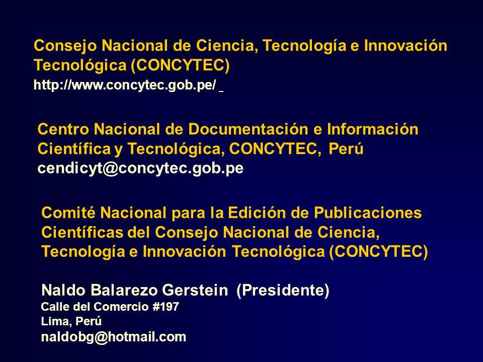 Consejo Nacional de Ciencia, Tecnología e Innovación