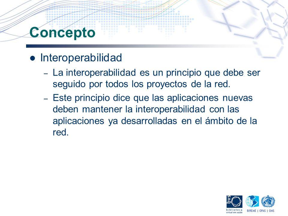 Concepto Interoperabilidad