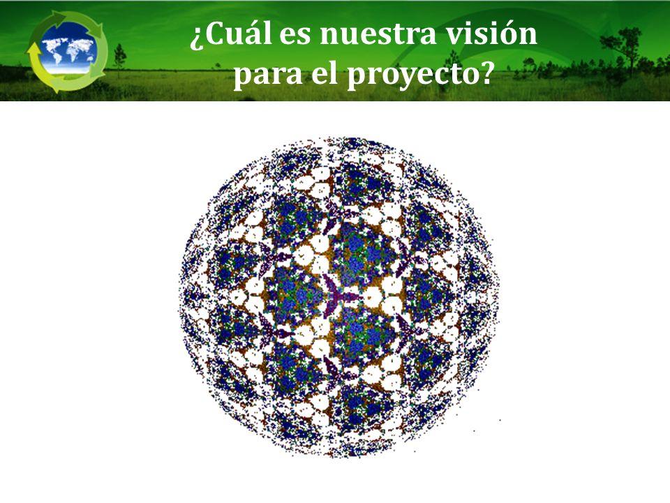¿Cuál es nuestra visión para el proyecto