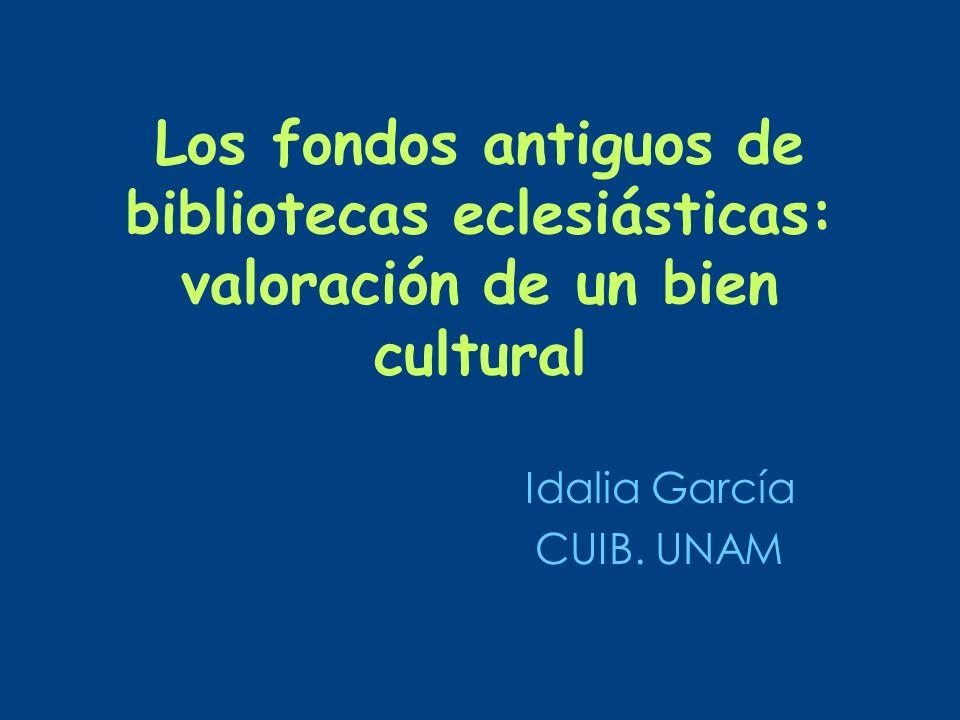 Idalia García CUIB. UNAM