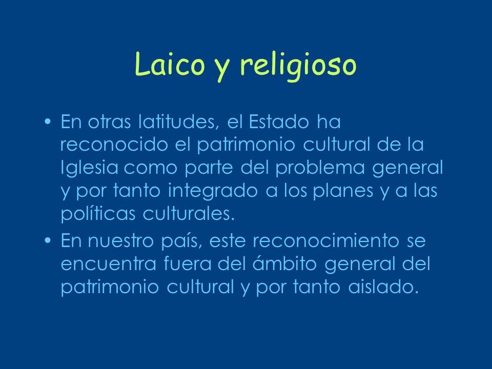 Laico y religioso