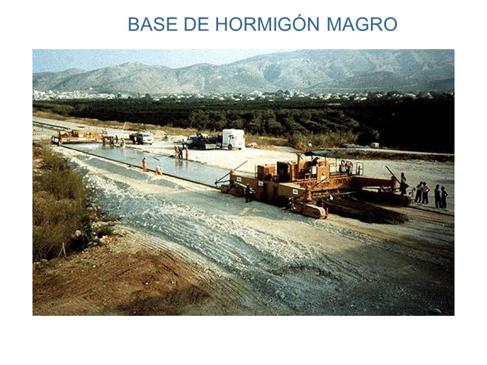 BASE DE HORMIGÓN MAGRO