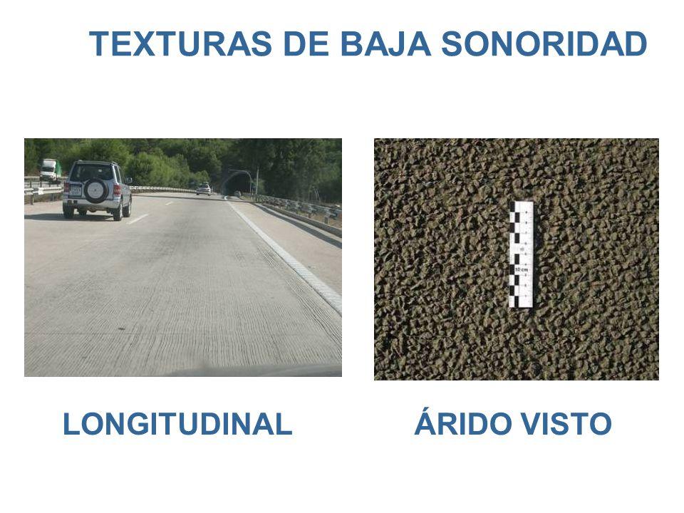 TEXTURAS DE BAJA SONORIDAD