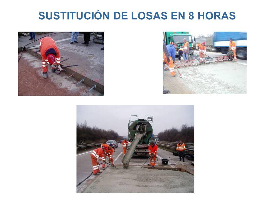 SUSTITUCIÓN DE LOSAS EN 8 HORAS