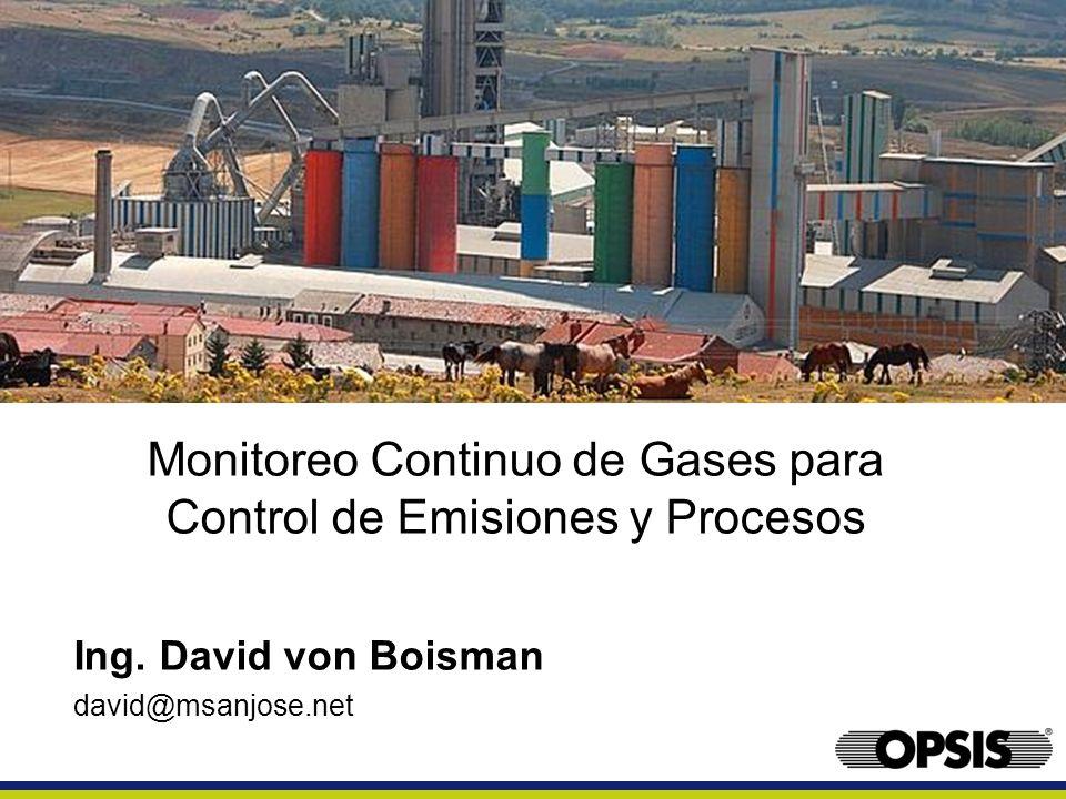 Monitoreo Continuo de Gases para Control de Emisiones y Procesos