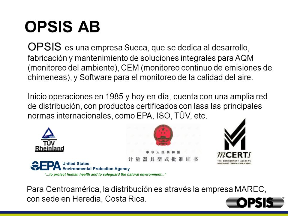OPSIS AB