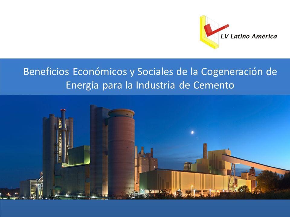 Beneficios Económicos y Sociales de la Cogeneración de Energía para la Industria de Cemento