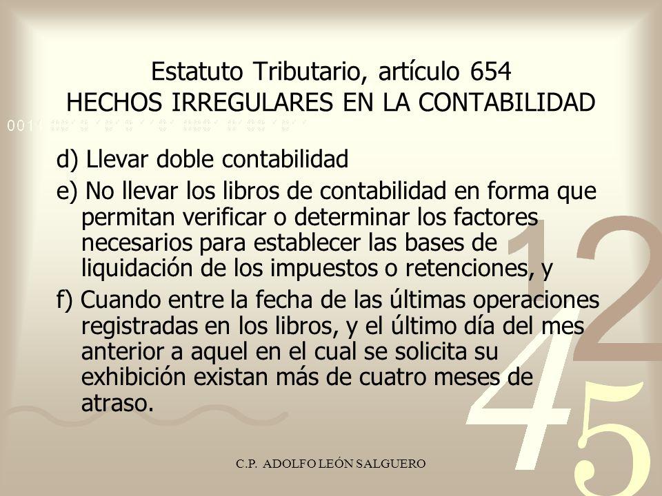 C.P. ADOLFO LEÓN SALGUERO
