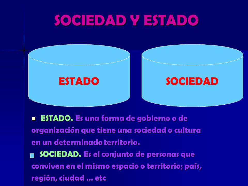 SOCIEDAD Y ESTADO ESTADO SOCIEDAD