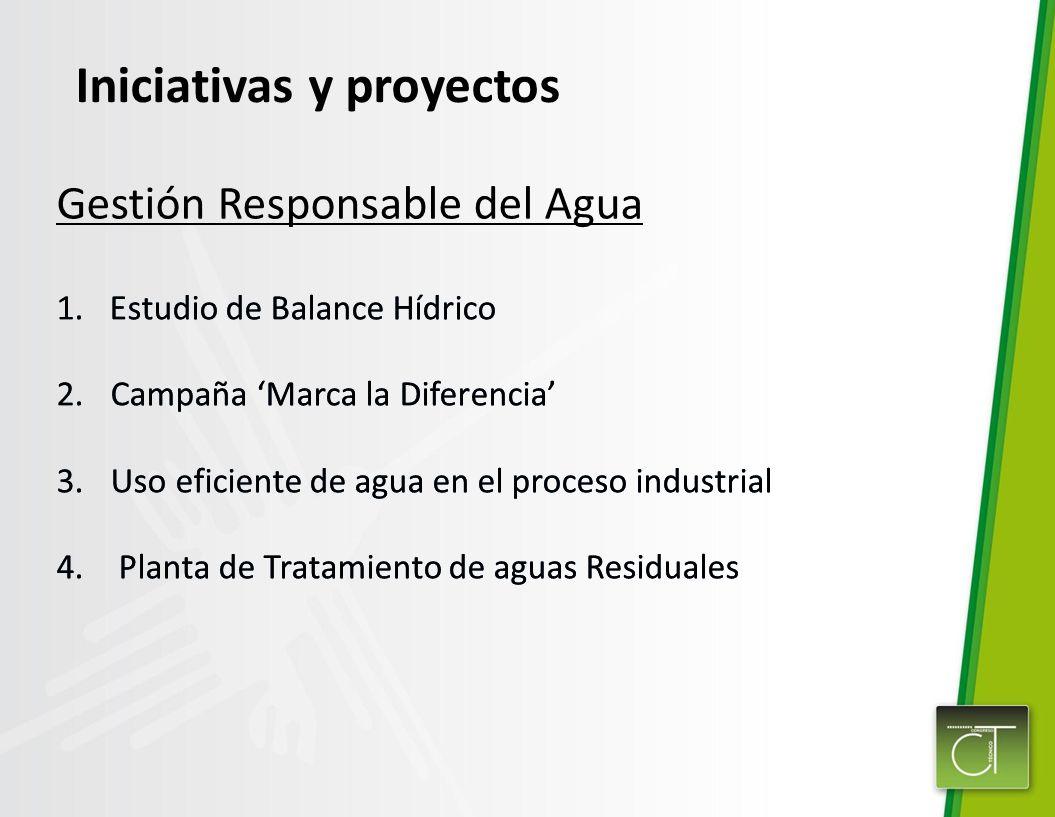 Iniciativas y proyectos
