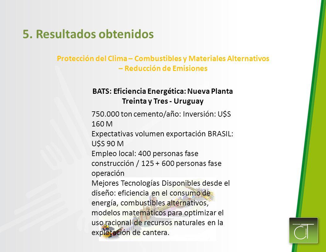 BATS: Eficiencia Energética: Nueva Planta Treinta y Tres - Uruguay
