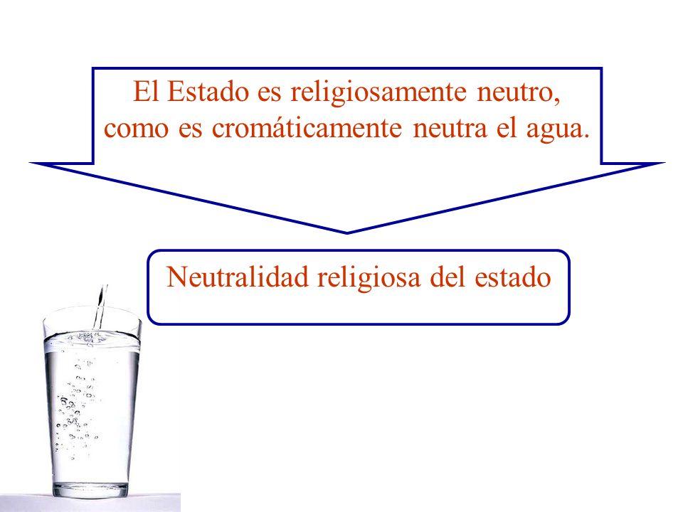 Neutralidad religiosa del estado