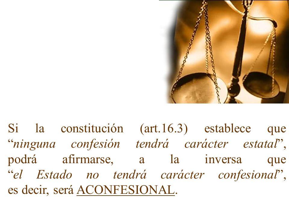 Si la constitución (art. 16
